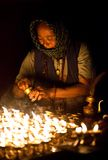 Old tibetan woman Royalty Free Stock Image