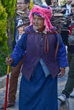 Old Tibetan woman Royalty Free Stock Images