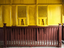 Old ticket counter Royalty Free Stock Images
