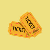 Old ticket Royalty Free Stock Photography