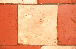Old tile. Background from an old tile Royalty Free Stock Images