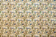 Old tile art nouveau. Old tile with floral decoration art nouveau style Royalty Free Stock Photography