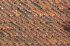 Old Tile Roof Royalty Free Stock Images