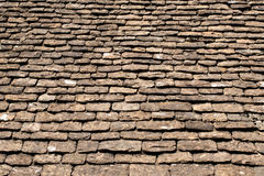The old tile roof Royalty Free Stock Photography