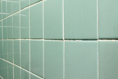 Old tile wall. Royalty Free Stock Photos