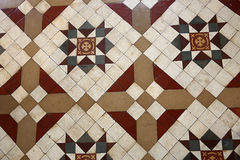 Old-tiled floor Stock Photography