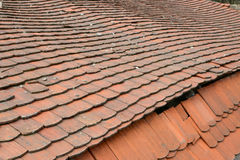 Old tiled roof Stock Photos