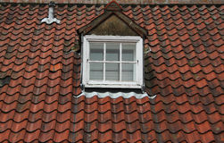 Old Tiled Roof Royalty Free Stock Photography