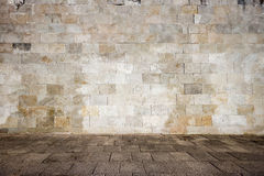 Old tiled wall Royalty Free Stock Images