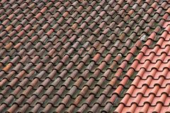Old Tiles Stock Image