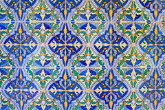 Free Old Tiles Floral Design Background Royalty Free Stock Photos - 29136278