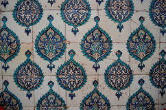 Old tiles in Istanbul 1 Stock Images