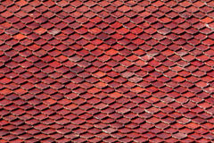 Old tiles roof Stock Images