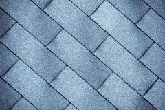 Old tiles roof texture. Close-up Vector Illustration