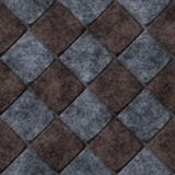 Old tiles seamless generated texture Royalty Free Stock Photo