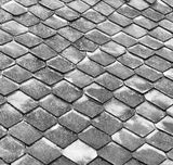 Old tiles. Royalty Free Stock Images