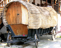 Old tilt gipsy cart Royalty Free Stock Photos