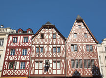 Old timber-frame houses at Trier Stock Images