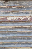 Old timber panel wall Royalty Free Stock Photography