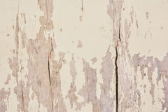 Old timber wall with leftover paint Stock Photos