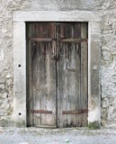 Old timber window Royalty Free Stock Images