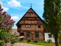 Old timbered homestead Royalty Free Stock Image