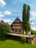 Old timbered homestead Stock Images