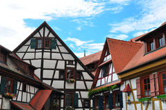 Old timbered house Stock Photo