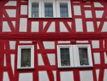 Old timbered house in Germany Royalty Free Stock Photo