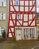Old timbered houses Stock Photos