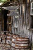 Old time Blacksmith building Stock Photos