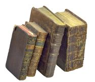 Old-time books Royalty Free Stock Images