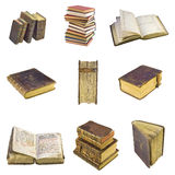 Old-time books Royalty Free Stock Photos