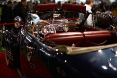 Old-time cabriolet car Stock Photography