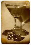 Old Time Gambling royalty free stock photos