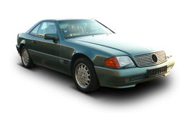 The old time mercedes. The photo of legendary Mercedes car Royalty Free Stock Image