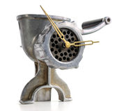 Old time mincer Royalty Free Stock Image