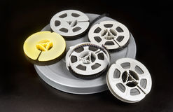Old time 8mm film. Stock Image