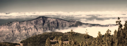 Old time panorama - Gran Canary Royalty Free Stock Images