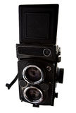 Old time photo camera Royalty Free Stock Photos