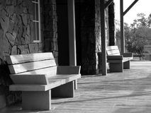 Old Time Porch Stock Photo