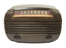 Old time radio Royalty Free Stock Images