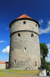 OLD TIME TOWER IN ESTONIA Stock Image