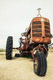 Old time tractor Royalty Free Stock Images