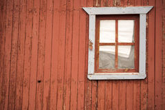 Old Time Window. A window on a rustic mountain cabin in Cripple Creek, Colorado Stock Photos