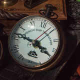 Old timekeeper - found at a flee market Stock Photo