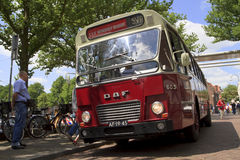 Old timer bus waiting for passengers Stock Photography