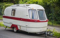Old-timer camper trailer Stock Photos