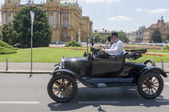 Old timer cars rally Stock Photography