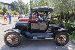Old timer cars rally Royalty Free Stock Images